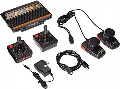 Atari Flashback 8 Gold Deluxe with 120 Games - Includes 2 Controllers New