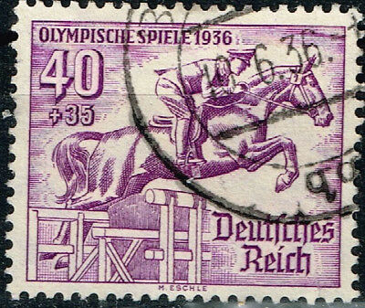 Germany Third Reich Berlin Summer Olympic Games stamp 1936 Equestrian