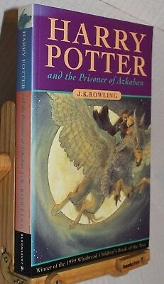 Harry Potter and the Prisoner Of Azkaban, J. K. Rowling, 1999 1st/1st edition