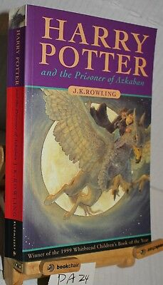 Harry Potter and the Prisoner Of Azkaban, J. K. Rowling, 1999 1st/18 edition PB
