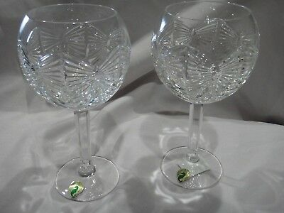 Waterford crystal The Millennium collection Toasting Goblets signed
