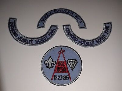 Vintage Boy Scouts Of America Patches 1985