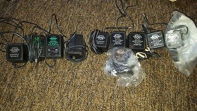 Assortment Of Whites Metal Detector Battery Chargers