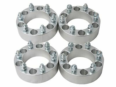 Set of 4 WHEEL SPACERS ADAPTERS 6x5.5 6x139.7 to 6x135 CHEVY to FORD Free Ship!