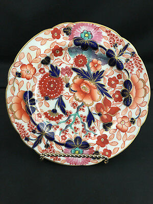Antique Old English Gaudy Welsh Plate