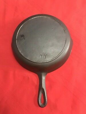 BSR RED MOUNTAIN #7Y Cast Iron Skillet With Heat Ring, Seasoned!