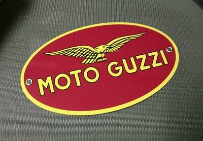 Moto Guzzi Italian Motorcycle sign