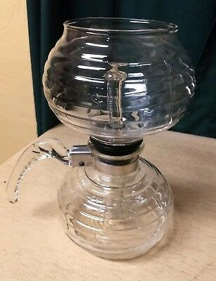 Vintage Vacuum Ribbed Coffee Pot With Cory Filter Rod And Box