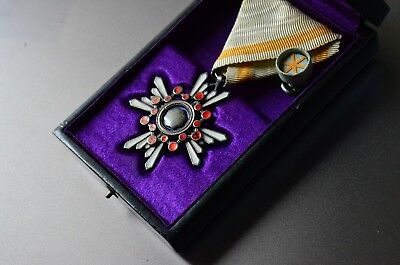 Japanese Order Of The Sacred Treasure Medal 6th Class Medal