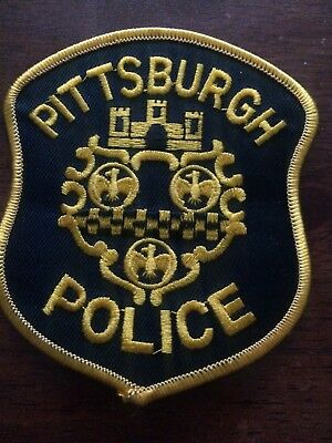 Pittsburgh Police Pa Police Patch