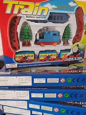 Thomas And Friends Style Train Track Set Battery Operated Kids Toy