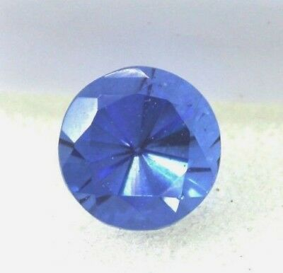 New Ggl Certified  6.20Ct Natural Blue Sapphire Ring Size Ceylon Round Shape