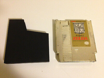 The Legend of Zelda gold cart only (Nintendo Entertainment System, 1987) NES