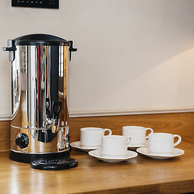 Stainless Steel 9 Litre Electric Catering Hot Water Boiler Tea Urn