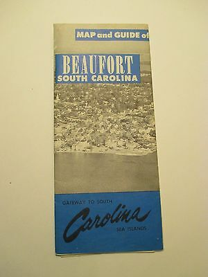 Map & Guide of BEAUFORT SOUTH CAROLINA CITY STREET Road Map