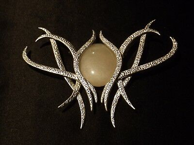 The Hobbit Galadriel Brooch Silver Plated by Noble An Unexpected Journey