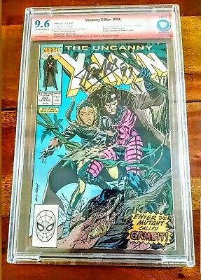 X-Men #266 1st Full Gambit CBCS 9.6 Signed by Chris Claremont and 2x Stan Lee!!!