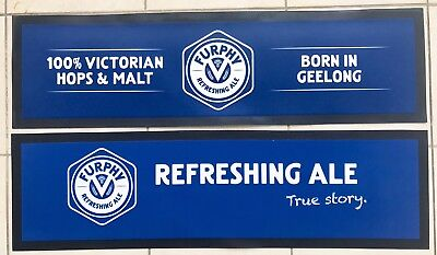 BRAND NEW! Furphy Refreshing Ale Bar Mats Set Of Two