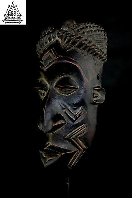 Vintage Pende Mask, Congo, Africa