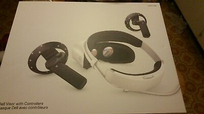 Dell Visor with Controllers virtual reality new in box NIB