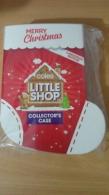 Coles Little Shop Christmas edition Case Only New Sealed