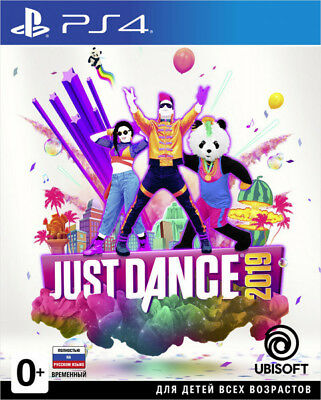 Just Dance 2019 PS4 New / Factory Sealed / Worldwide Shipping