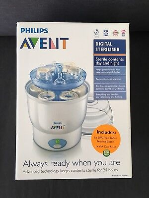 Avent Electric Steriliser 6 Bottle Capacity