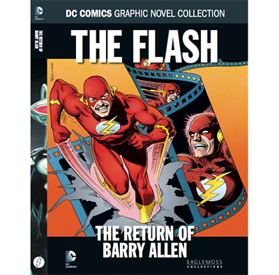 The Flash: The Return of Barry Allen Book - DC Comic Collection 48 - Eaglemoss
