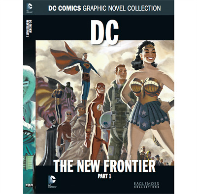 DC: The New Frontier Part 1 Book - DC Comic Collection 46 - Eaglemoss