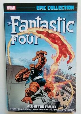 Fantastic Four Marvel Epic Collection Vol 17 All In The Family