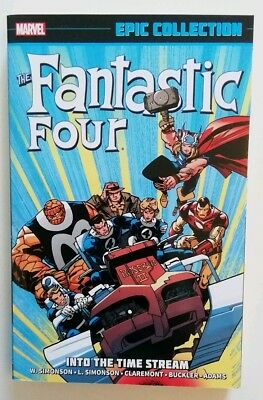 Fantastic Four Marvel Epic Collection Vol 20 Into The Time Stream