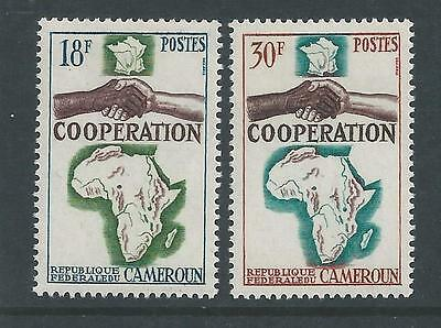 Cameroon - 1964 Co-operation - Light Mounted mint set