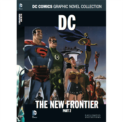 DC: The New Frontier Part 2 Book - DC Comic Collection Volume 47 - Eaglemoss