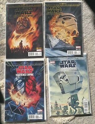 Star Wars Shattered empire disposable comics variant complete comic set NEW