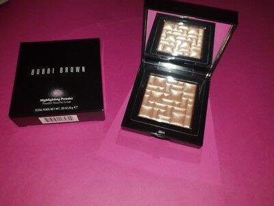 New In Box BOBBI BROWN Full Size Highlighting Powder In Afternoon Glow 8g $80