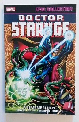 Doctor Strange Marvel Epic Collection Vol 3 A Separate Reality