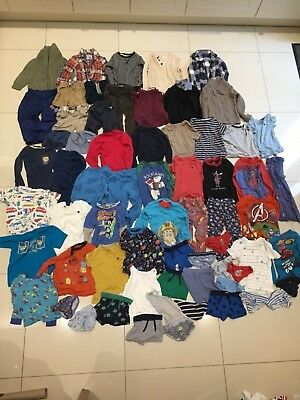 Large bundle of baby boys clothes age 3 - 4 years, approx 75 items