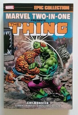Marvel Two-In-One Epic Collection Vol 1 Cry Monster The Thing
