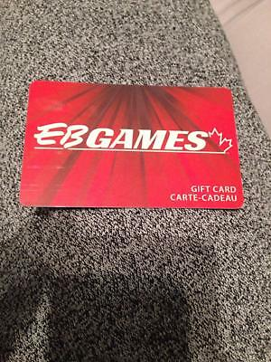 $60 EB Games Canada Gift Card