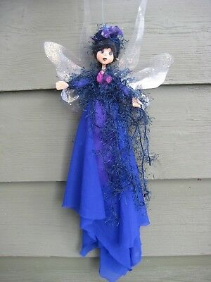 Magical Party Fairy (Blue) - Hand made By Conny