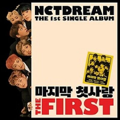 KPOP [NCT Dream] The First [1st Single Album] CD+Poster+PhotoBook+M.Book+Card