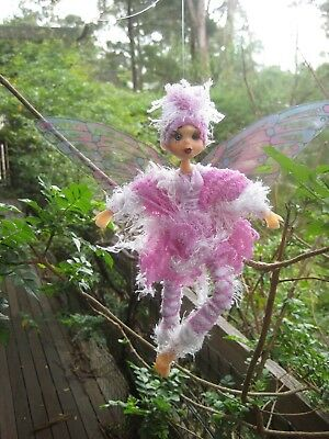 Magical Party Elf (Pink) - Hand made By Conny
