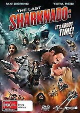 The Last Sharknado Its About Time DVD