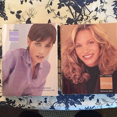 2 Vintage JC Penney Catalog 2001 Spring Summer Fall Winter