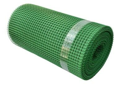 Green Garden Fencing Mesh / Size 15mm x 15mm / Animals Fence Net Border Bedding