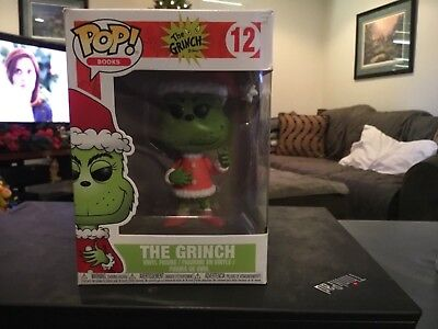 Funko Pop! Books: The Grinch - Santa Grinch Vinyl Figure IN STOCK