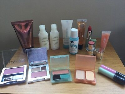 15 Products Incll Clinique Blusher Lipstick Philosophy Smashbox Aveda Bliss