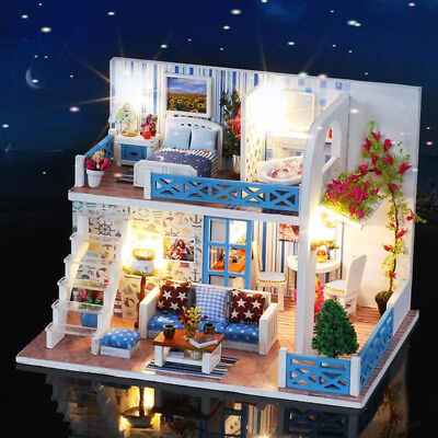 LOL SURPRISE DOLL HOUSE Made with REAL WOOD - SURPRISES !! Gifts for Kids