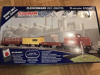 Fleischmann Start-Set DCC-Digital N Piccolo 8 9394