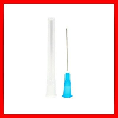 "BD Microlance™ 3 Needles STERILE HYPODERMIC BLUE  23G X 1""  0.6mm X 25mm"